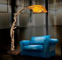 """lámparas """"la luz del bosque"""""""